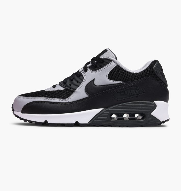 huge discount 73b6e c7f11 NIKE NIKE AIR MAX 90 ESSENTIAL BLACK BLACK-WOLF GREY-ANTHRACITE  (537384-053)   KIX-FILES