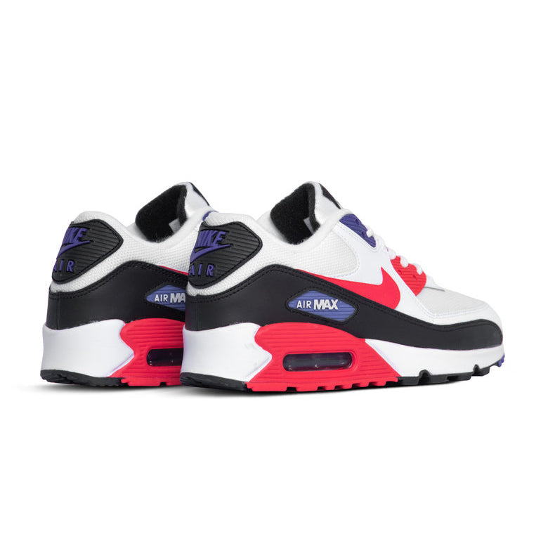 Nike Air Max 90 WhiteRed Orbit Psychic Purple Black AJ1285 106