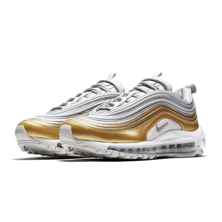 new products fbb0a 72d4c Nike Wmns Air Max 97 SE Metallic Pack VAST GREY/METALLIC SILVER-METALLIC  GOLD (AQ4137-001)