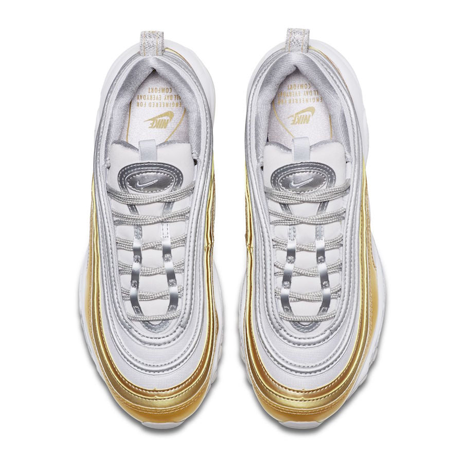 WMNS Air Max 97 SE Metallic Gold Pack weiß gold