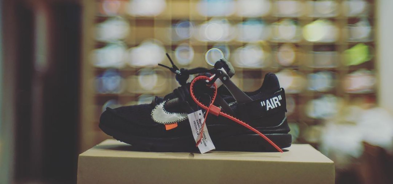 Nike x Off White THE 10 : NIKE AIR PRESTO 2018 Black
