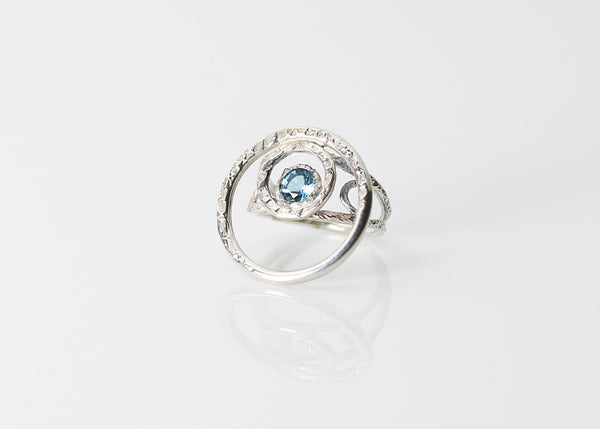 Dune Topaz Cocktail Ring