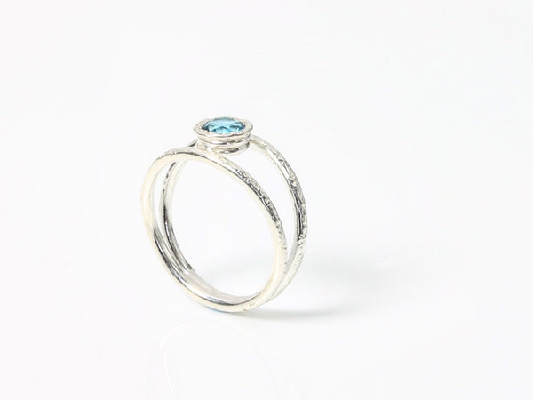 Silver & Topaz Cocktail Ring