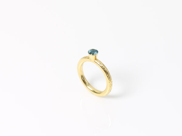 Gold & Topaz Cocktail Ring