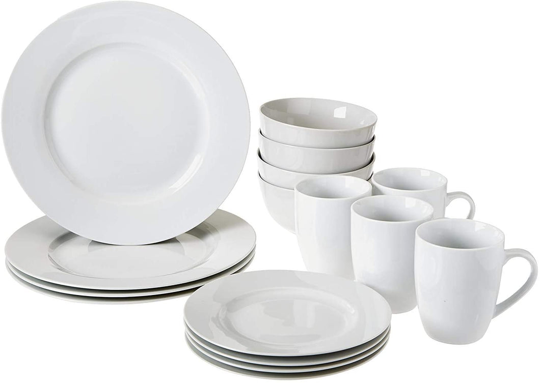 16-Piece Kitchen Dinnerware Set