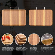 Load image into Gallery viewer, Multipurpose Thick Acacia Wood Cutting Board
