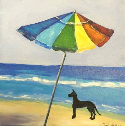 Beach Dogs customized with your pet