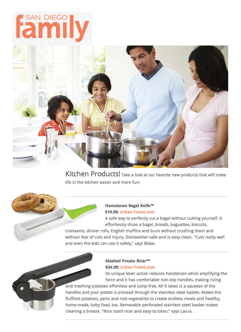 Kitchen Products from Urban Trend