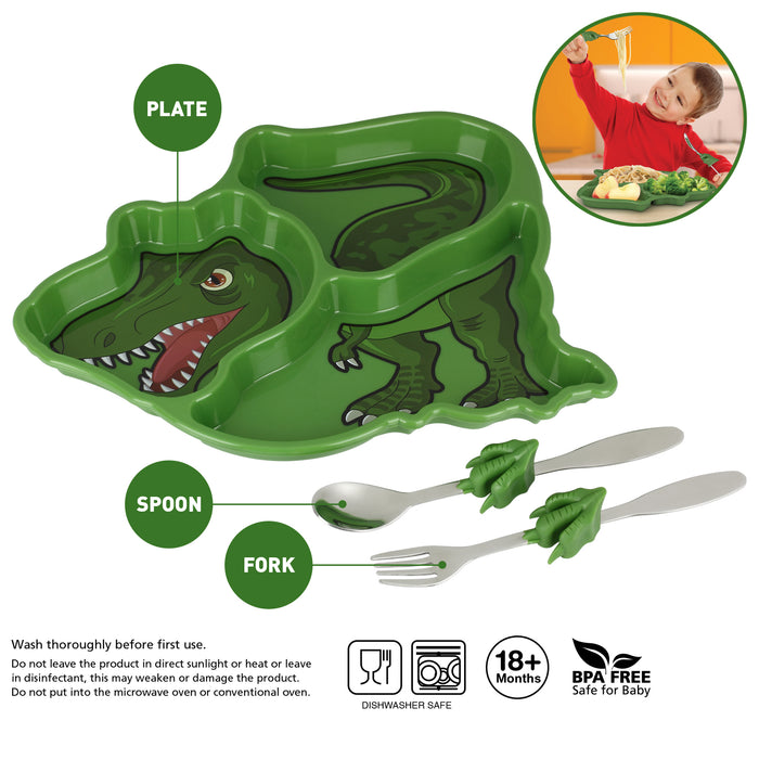 Me Time Dinosaur Meal Set