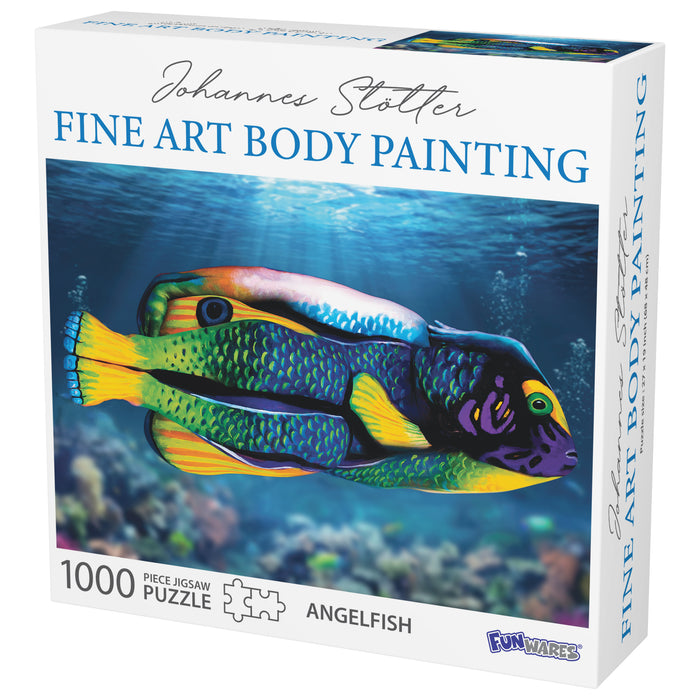 Johannes Stotter Angel Fish Body Art Puzzle
