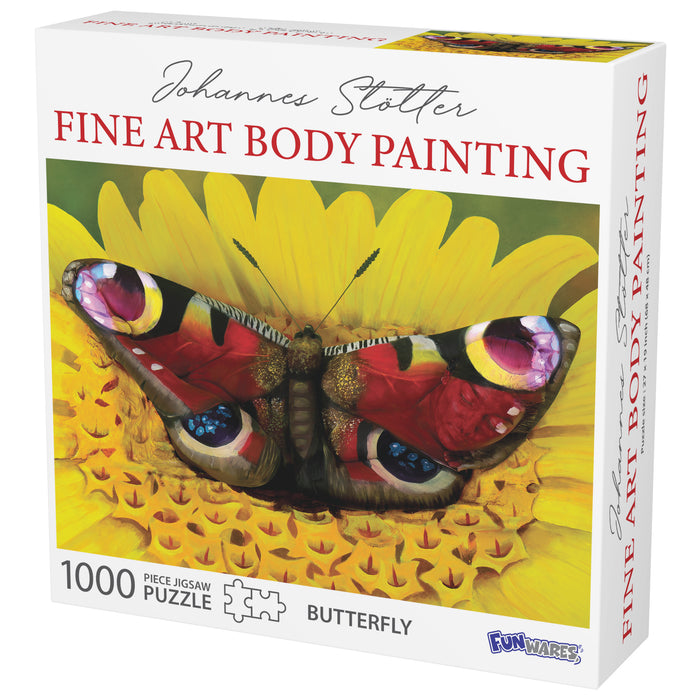 Johannes Stotter Butterfly Body Art Puzzle