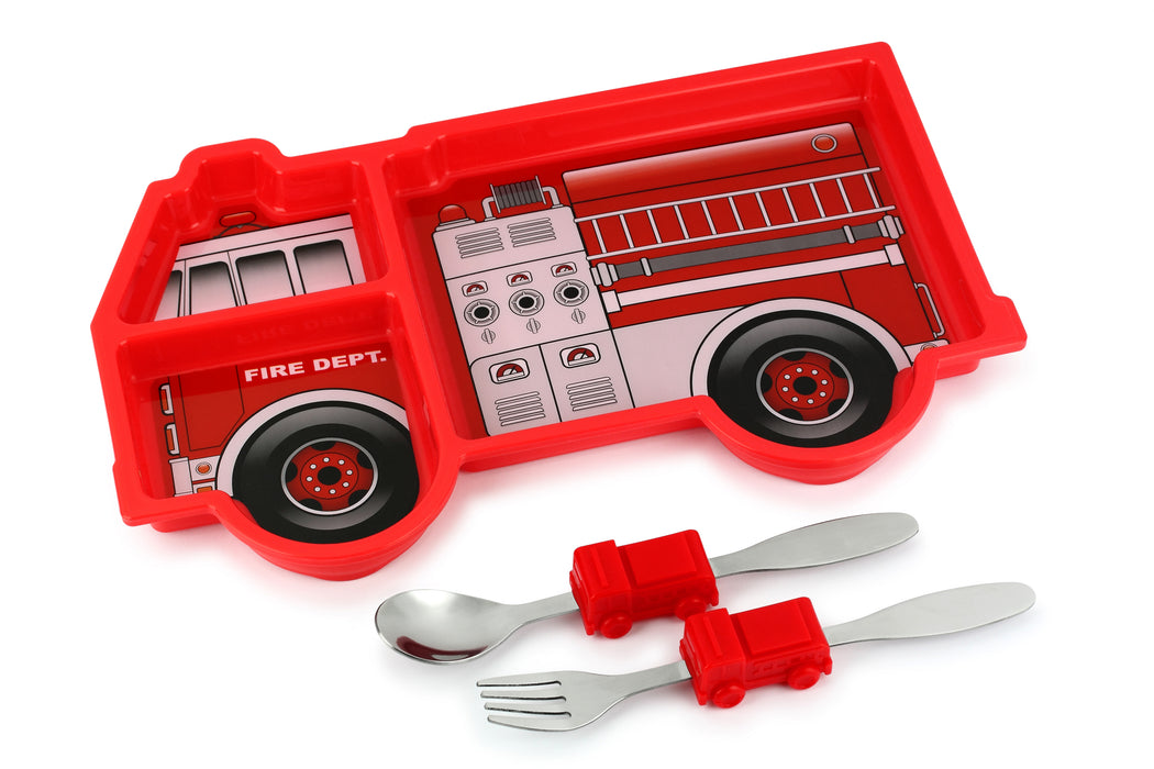 Me Time Fire Truck Meal Set