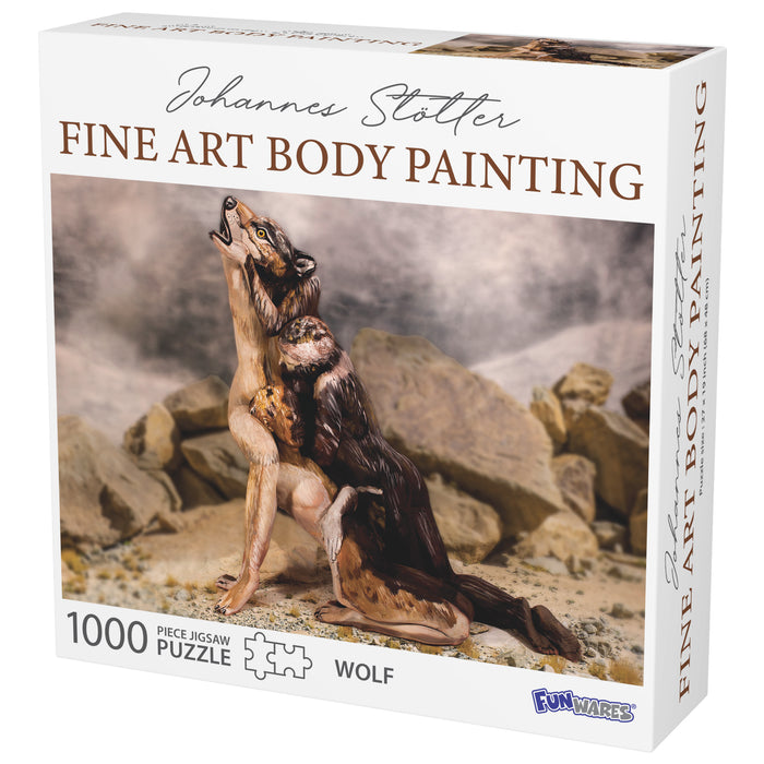 Johannes Stotter Wolf Body Art Puzzle