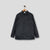 Polycotton Collared Snap Shirt Black