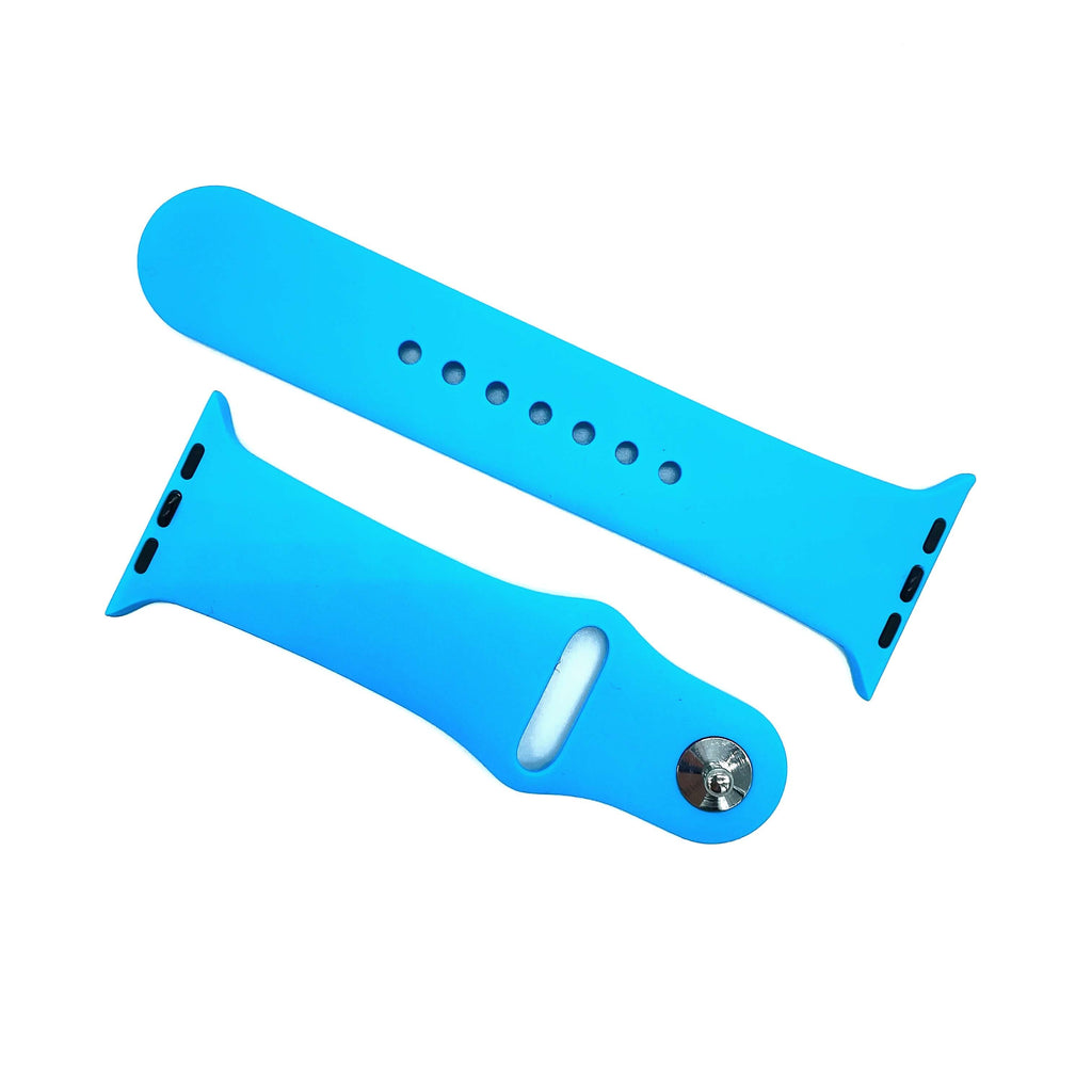 Correa Deportiva de Silicona para Apple Watch - Azul