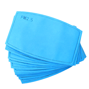 Polypropylene Face Mask Filters made of N95 material meltblown and activated carbon Edmonton