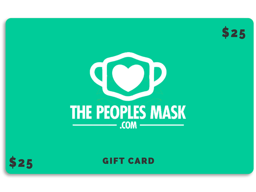 Face Mask Gift Card