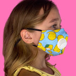 3 Layer Kids Reusable Face Mask With Filters | Patterns