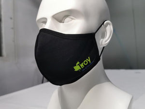 Custom Business Logo Screen Print 3 Layer Face Mask - Edmonton