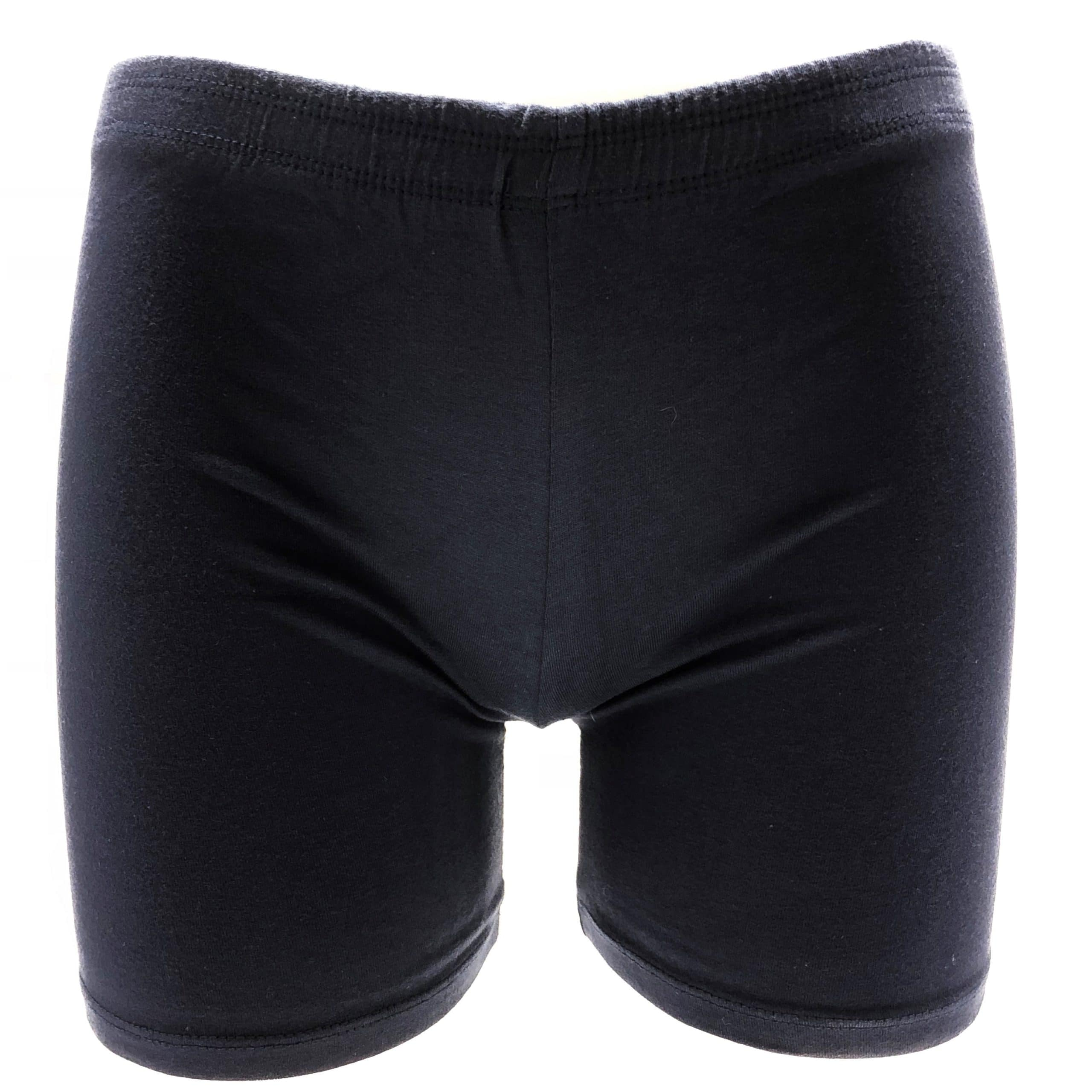 Black Under School Uniform Short