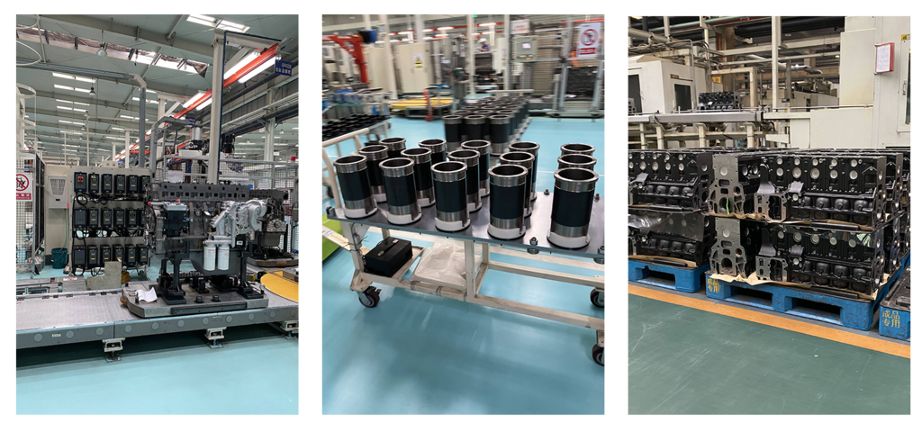 PowerLink engine production line