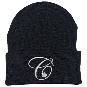 Open image in slideshow, Classic C Embroided Beanie