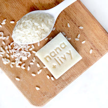 Load image into Gallery viewer, Rice Milk Soap Block