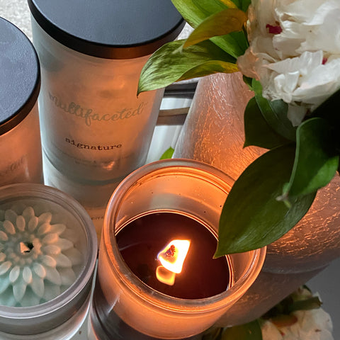 multifaceted candles