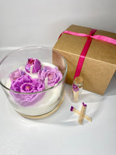 Load image into Gallery viewer, Bloom Where You Are Planted Candle - Assorted Colors w/ Matches - Eco-Friendly, 24 oz