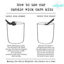 Load image into Gallery viewer, candle wick care tool kit
