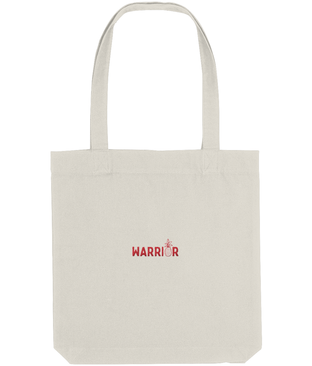 Warrior Emroidered Tote