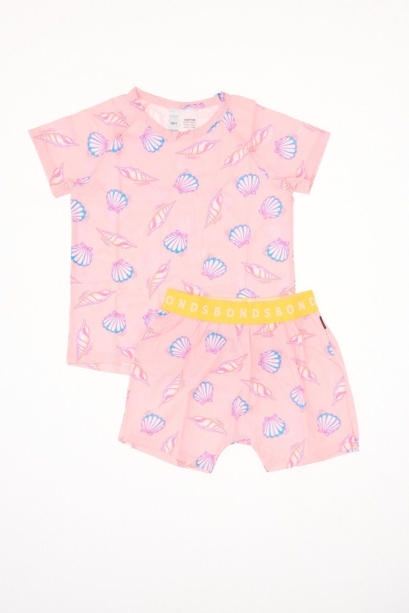 Summer Shells Kids PJ Set