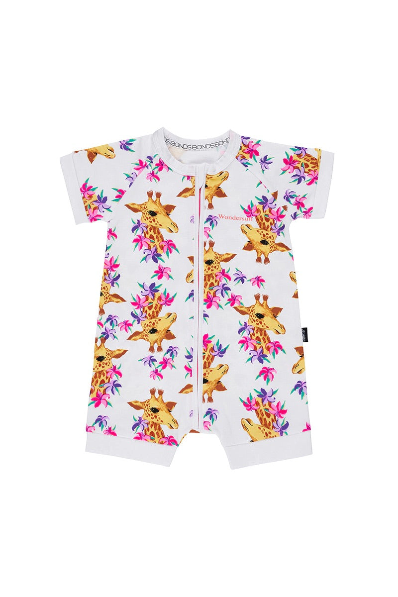 GIGI GIRAFFE ROMPER WONDERSUIT