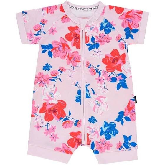 SUPER FLORA ROMPER WONDERSUIT