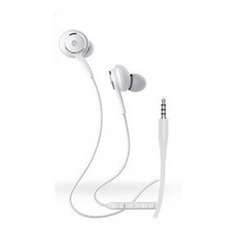 EARPHONES SMART SERIES DEVIA WIRED JACK 3.5 - BRANCO