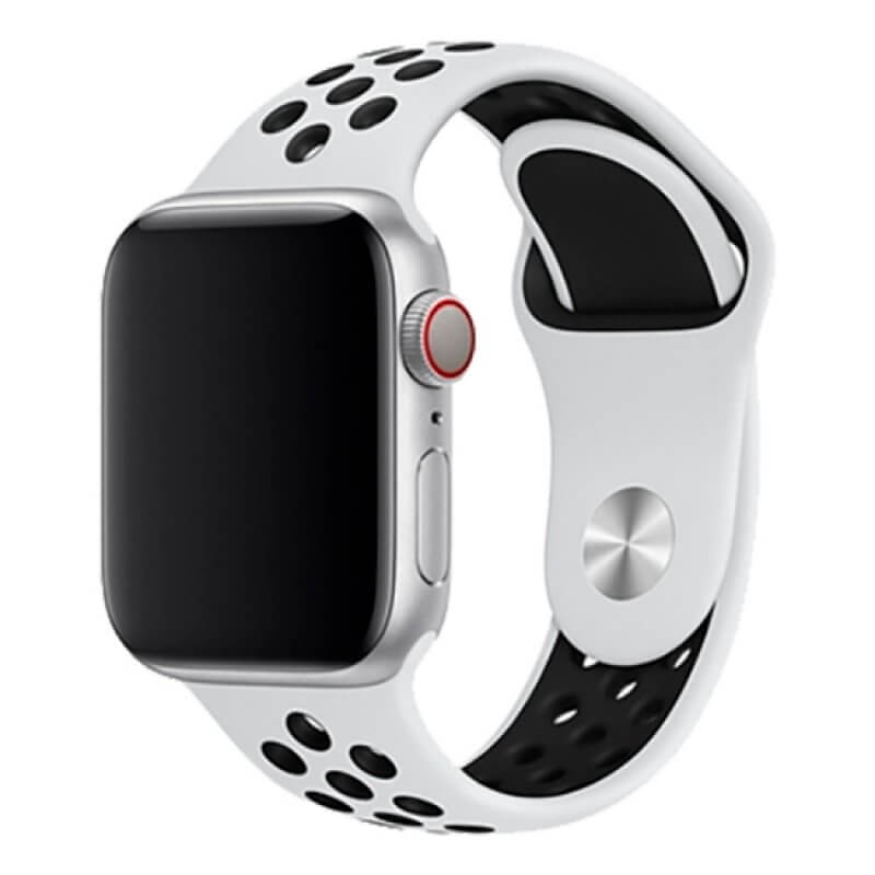 Bracelete Apple Watch 44mm Deluxe - Branca