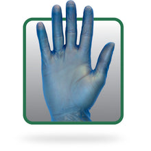 Load image into Gallery viewer, Blue Vinyl Gloves