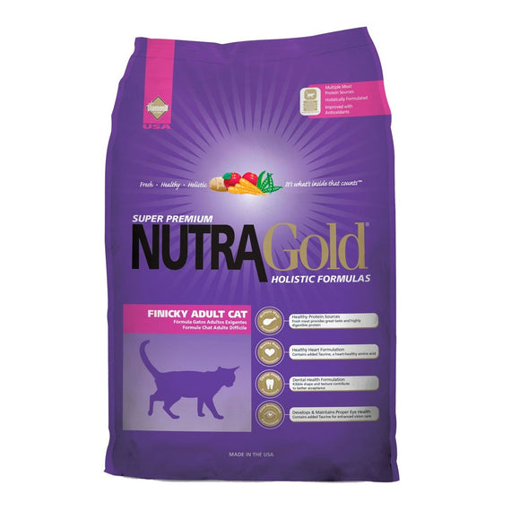 Nutra Gold Finicky Adult Cat 3 Kg