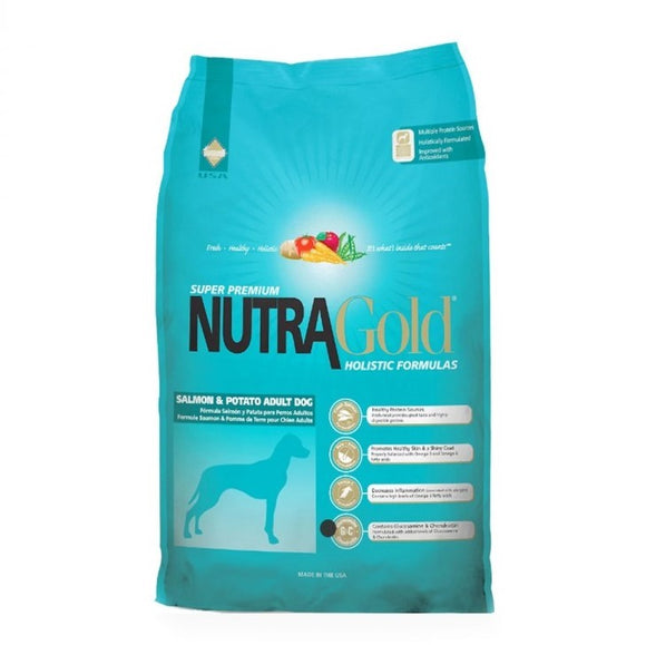 Nutra Gold Salmon and Potato 15 Kg