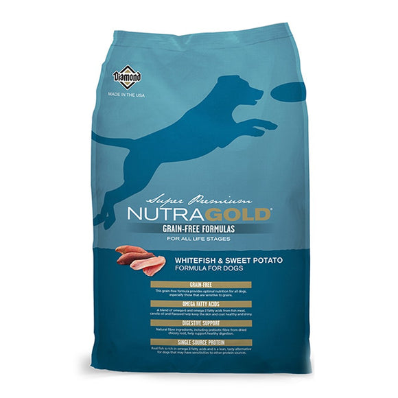 Nutra Gold Whitefish and Sweet Potato 13,6 Kg