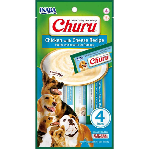 INABA Churu Dog Chicken with Cheese 56gr