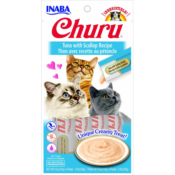 INABA Churu Tuna with Scallop 56gr