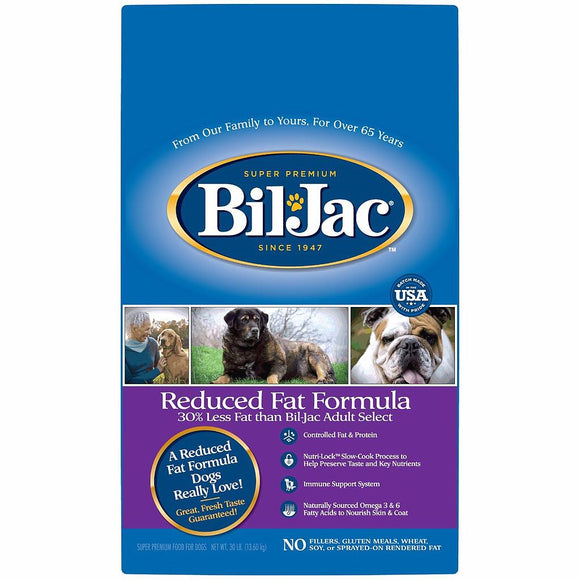 Bil Jac Reduced Fat Formula 13,6 Kg