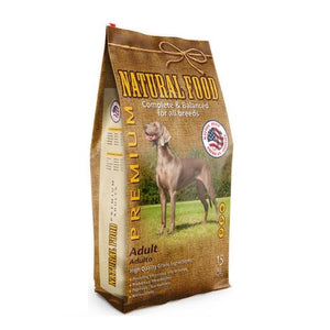 Natural Food Perro Adulto 15 Kg