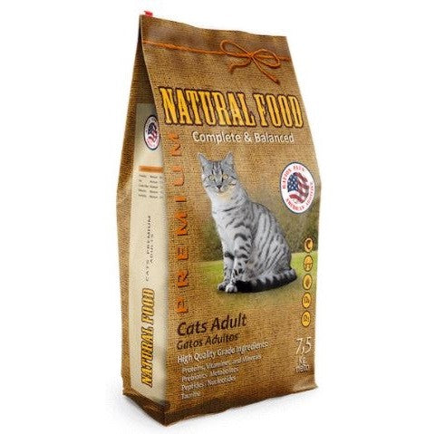 Natural Food Gato Adulto 7,5 Kg