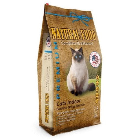 Natural Food Gato Adulto Indoor y/o Esterilizado 7,5 Kg