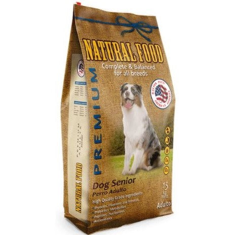 Natural Food Perro Senior 15 Kg