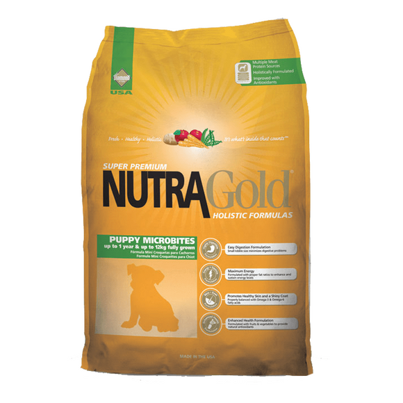 Nutra Gold Puppy Microbites 7,5 Kg