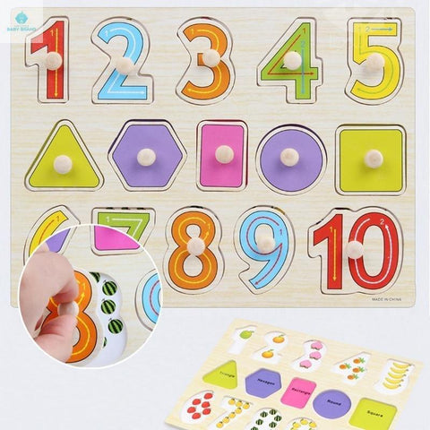 Early years Education Wooden Puzzle