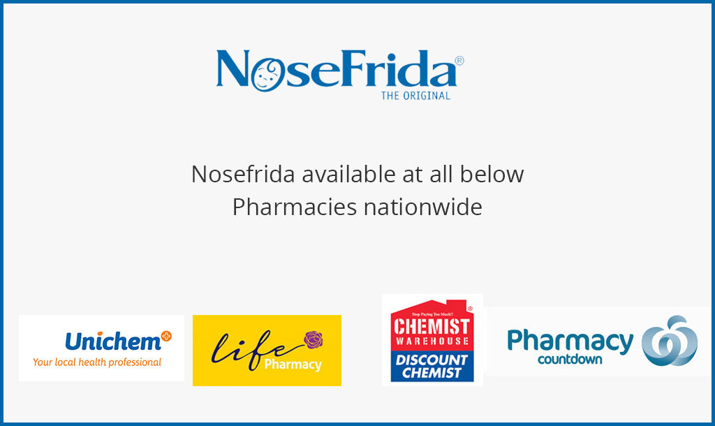 Nosefrida available at all Life Pharmacies and Unichem Pharmacies nation wide